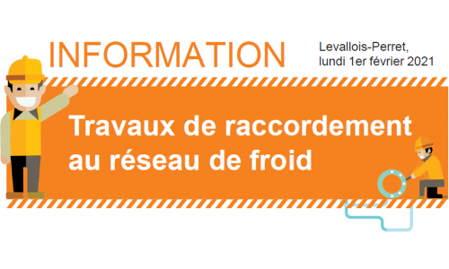 [Travaux] Raccordement au réseau de froid – Rue Jules Guesde